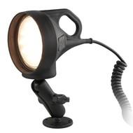 RAM Mount Spatwaterdichte LED Spotlight met klemhouder set