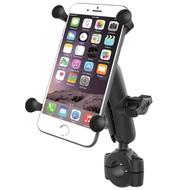 RAM Mount Torque™ large smartphone stangbevestigingset met X-Grip RAM-B-408-75-1-UN10U