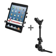 RAM Mount Universal No-Drill POD HD mount met 7/8 inch X-Grip tablethouder