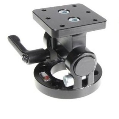 Brodit Pedestal Mount Top Part with 180° turnaround, with AMPS hole