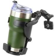 RAM Mount Balancerende drankhouder XL- Level Cup™ XL Stangbeugel RAM-B-408-75-1-A-417U