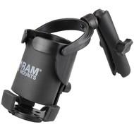 RAM Mount Balancerende drankhouder XL- Level Cup™ XL lange klemarm RAM-B-417B-C-201U