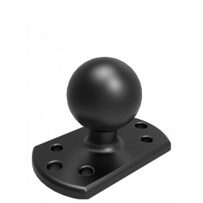 """RAM Mount C-maat 1.5"""" Ball Base voor Crown Work Assist®"""