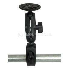 RAM Mount Small Tough-Claw™ klem composiet set ronde B-kogel