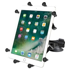 """RAM Mount Dubbele Zuignap X-Grip 10"""" tablet - verlengde knop UN9U"""