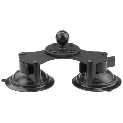 RAM Mount Double 8.5 cm Suction Cup Base met B-kogel