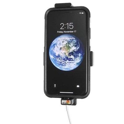 Brodit houder Apple iPhone X met skin (Lightning USB geschikt)