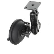 Brodit Pedestal Mount Lite Suction cup mount Kort 160mm