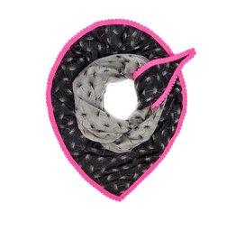POM Amsterdam dance4life shawl - bright pink