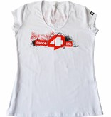 Dames T-shirt Wit