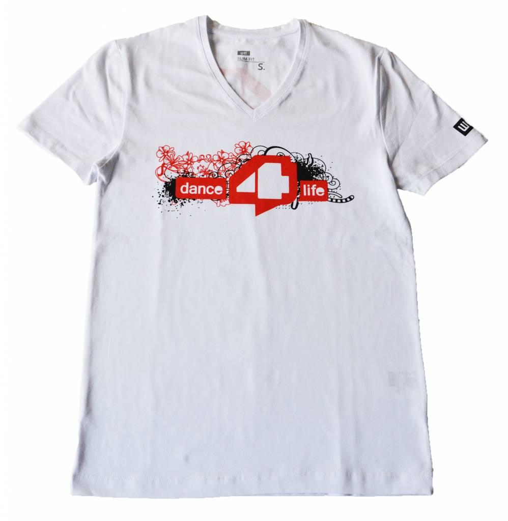 Heren T-shirt Wit