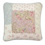 Rose stof met trozen, lichtroze stof met rozen, witte stof met rozen, pastel groen/blauwe stof met rozen
