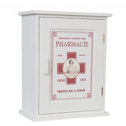 Clayre & Eef Medicine chest 24*13*30 cm