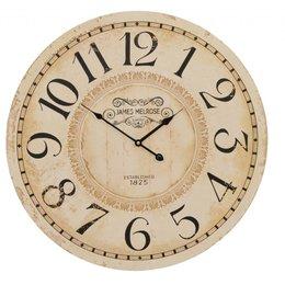 Clayre & Eef Clock Ø 60*5 cm