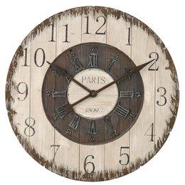 Clayre & Eef Clock Ø 80*5 cm / 1xC