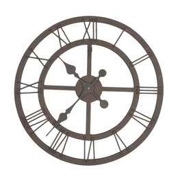 Clock Ø 50*5 cm / 1xAA