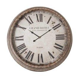 Clock Ø 64*10 cm / 1xAA