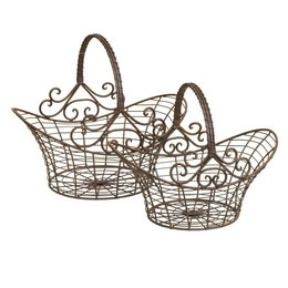 Basket (2) 41*31*35/36*24*28 cm