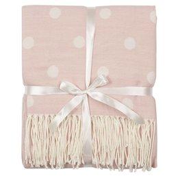 KT060.006P - Plaid - 130 x 150 cm - Polyester/Viscose - pink