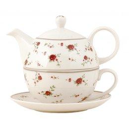 LPRTEFO - Tea for one - 0.4 L - keramiek - rood