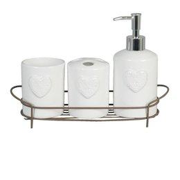 Bathroomset (4) 29*9*19 cm