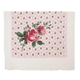 Clayre & Eef CTLOR - Gastendoekje - 40 x 60 cm - katoen - rose