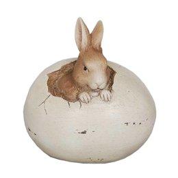 Clayre & Eef Decoration bunny 9*7*9 cm