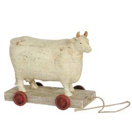 Cow on wheels 14*7*12 cm