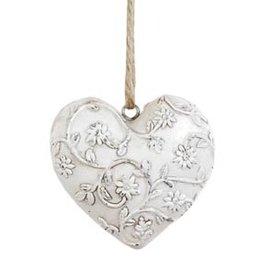 Decoratie heart 7*5*7 cm