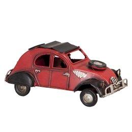 6Y1236 - Model auto - 16 x 8 x 7 cm - ijzer - rood