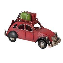 6Y1093 - Model auto - 26 x 12 x 15 cm - ijzer - rood