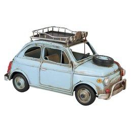 6Y1196 - Model Car - 27 x 12 x 13 cm - ijzer - Pastel blauw