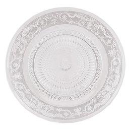 6GL0223 - Bord - Doorsnede/hoogte:  23 cm - glas - Transparant
