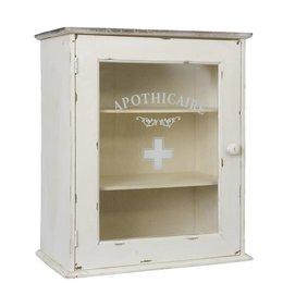 Clayre & Eef Wooden cabinet 47*27*55 cm