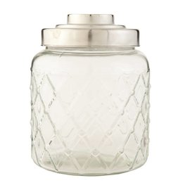 Clayre & Eef Storage jar Ø 16*20 cm (2.6L)