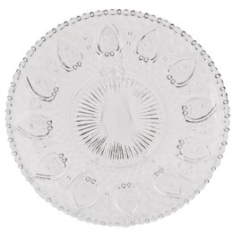 6GL0225 - Bord - Doorsnede/hoogte:  20 cm - glas - Transparant