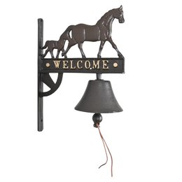 Bell with horse 26*13*33 cm