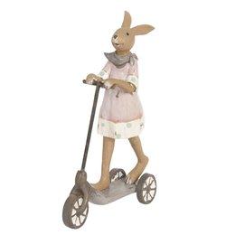 Clayre & Eef Decoration bunny 12*5*18 cm