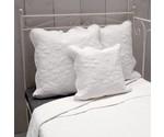 Q143 - Witte quilt bedsprei