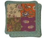 Quilt bedsprei multi colour
