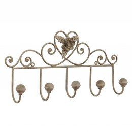 Clayre & Eef Coat rack 44*7*22 cm