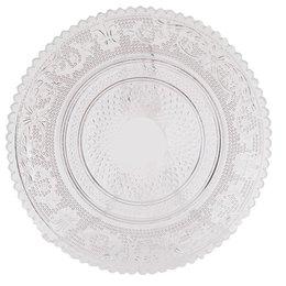 6GL0221 - Bord - Doorsnede/hoogte:  15 cm - glas - Transparant