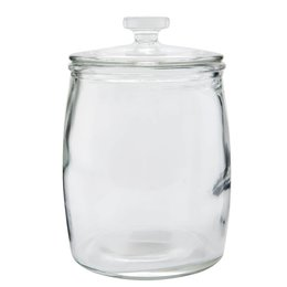 Clayre & Eef Storage jar Ø 15*21 cm / 2L