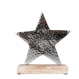 Clayre & Eef Decoration star 11*15*3 cm