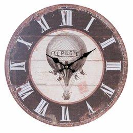 Clayre & Eef Clock Ø 34*4 cm