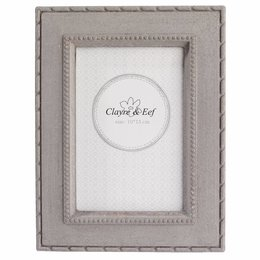 Clayre & Eef Photo frame 16*1*20 / 10*15 cm