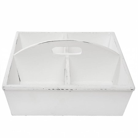 Clayre & Eef Tray with boxes 28*28*13 cm