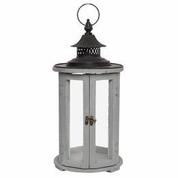 Clayre & Eef Lantern Ø 22*47 cm