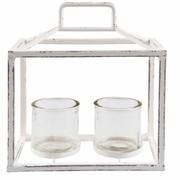 Clayre & Eef Tealight holder 23*13*27 cm
