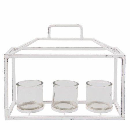 Clayre & Eef Tealight holder 33*13*27 cm